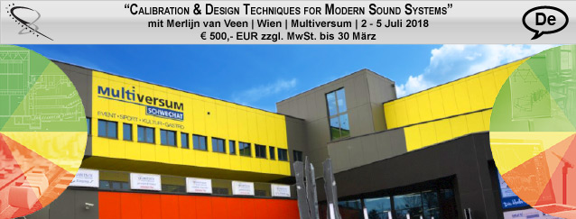 Calibration & Design Techniques for Modern Sound Systems Part I | Wien