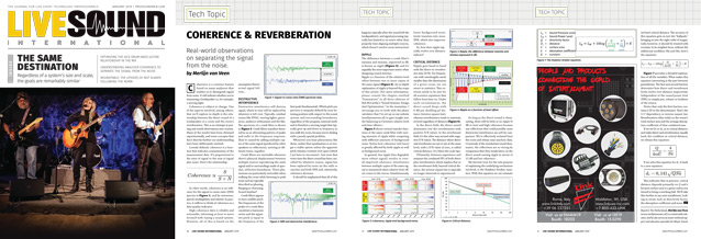 Coherence & Reverberation MVV LSI 1901
