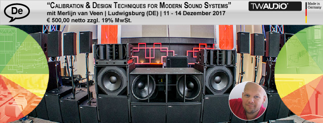 Calibration & Design Techniques for Modern Sound Systems Part | Ludwigsburg