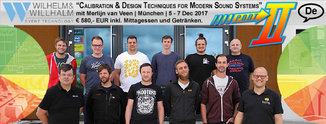 Calibration & Design Techniques for Modern Sound Systems Part II | Munchen